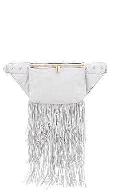 Luana Italy Raquel Belt Bag in Bianco