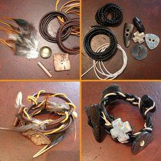 Union Knopf DIY Projekt: Naturarmband #diy #armband #bracelet #nature #style #accessoires #unionknopf #knoepfe #buttons