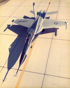 Northrop YF-17 #flickr #plane #1974