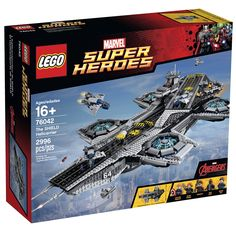 AmazonSmile: LEGO Superheroes The Shield Helicarrier: Toys & Games