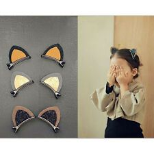 Find great deals for Super Cute Cat Ear Pair Glitter Hair Clips Kids Children Hairgrips Party Expo. Halloween Karneval, Super Cute Cats, Diy Mode, Barrettes, Glitter Hair, Fashion Kids, Felt Crafts, Diy Hairstyles, Diy For Kids