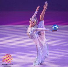Aleksandra Soldatova (RUS) performs at Budapest Gala 2017