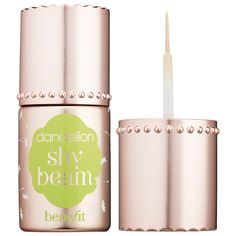Benefit Shy Beam Matte Liquid Highlighter with Swatches   http://www.musingsofamuse.com/2015/12/benefit-shy-beam-matte-liquid-highlighter-with-swatches.html