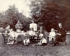 The Vicarage Tea Party, 1899