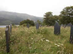Eilean Munde, the final resting place of MacDonalds slaughtered at the Massacre at Glencoe