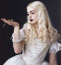 Tim Burton's White Queen