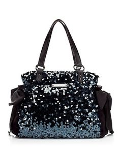 Juicy Couture Black Sequin Purse