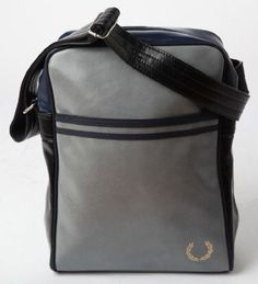 Fred Perry Navy/Grey/Black Flight Bag « Impulse Clothes