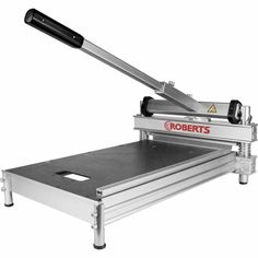 The Roberts Multi-Floor Cutter will cleanly cut all types of materials including laminate, engineered wood, LVT and WPC. Wood Laminate Flooring, Engineered Wood Floors, Types Of Flooring Materials, Vct Tile, Best Laminate, Tile Cutter, Rubber Tiles, Hollywood Lights, Tile Saw