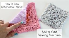 Transcendent Crochet a Solid Granny Square Ideas. Inconceivable Crochet a Solid Granny Square Ideas. Crochet Fabric, Crochet Quilt, Crochet Crafts, Crochet Baby, Crochet Projects, Free Crochet, Knit Crochet, Learn Crochet, Crochet Geek