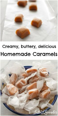 Homemade Caramels - yes, you can make candy easily at home! - Salt & Lavender