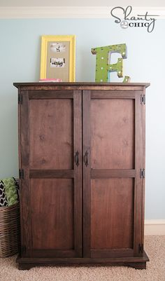 Ana White | Build a Toy or TV Armoire Drawer Insert | Free and Easy DIY Project and Furniture Plans
