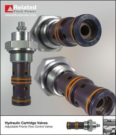 Adjustable priority pressure compensated flow control valves maintain constant regulated flow regardless of changes to load or inlet pressure. Marine Engineering, Mechanical Engineering, Hydraulic Pump, Control Valves, Priorities, Flow, Gay, Engineering