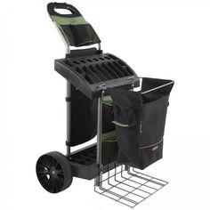"""Super Duty Garden Cart (Green / Black) (45.25""""H x 28""""W x 26""""D)"""