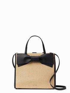0fd37ff36fb3 olive drive straw brigette by kate spade new york Summer Handbags, Straw  Handbags, Leather