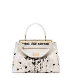 Naomie Harris  personalized Peekaboo on auction for Fendi s charity project Fendi  Peekaboo Bag 964c569a11ede