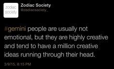 Gemini zodiac facts http://zodiacsociety.tumblr.com