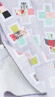 Beautiful quilt idea.