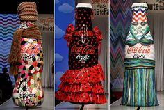 Coca Cola Light fashion show in Milan