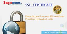 Powerfull and Low cost ‪#‎SSLcertificate‬ Providers Hyderabad India. More Details: http://1rupeehosting.com/ssl.html