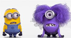 Great   Despicable Me Minion Purple minion tshirt by JISCRAFTY, $2.99