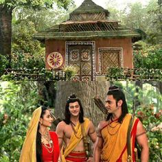 their new homw at panchwati