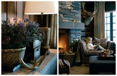 * ~~**~~ Bliggan ~~**~~ *: Drömma sig bort i Slettvoll Cabin Fever, Drawing Room, New England, Cottage, Cozy, Living Room, Interior, Inspiration, Furniture