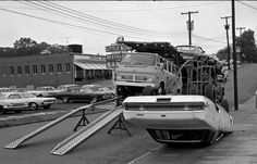 Ooops, A new Mercury Marquis didn't quite make it to the showroom (1969)