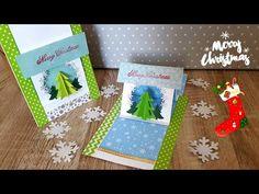 Ziehkarte Weihnachten/ Christmas Pop up Slider Card - YouTube