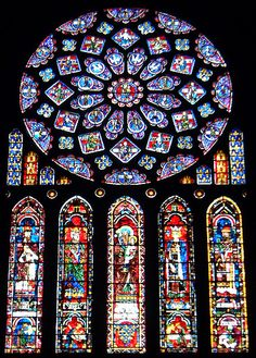 Chartres Cathedral Rose Window