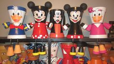 Disney Mickey Minie Mouse Donald Duck Daisy by GARDENFRIENDSNJ