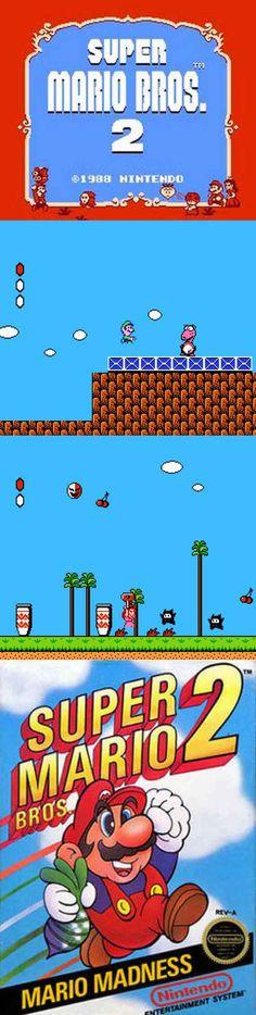 #RetroGamer Super Mario Bros. 2 gives Mario gamers a new style of 2D #platforming! http://www.levelgamingground.com/super-mario-bros-2-review.html