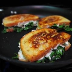 White Pizza Grilled Cheese by quickcheapkitchen