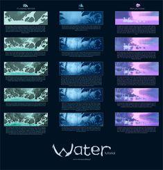 Water Tutorial by MinnaSundberg.deviantart.com on @deviantART