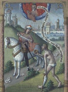 11 novembre. Saint Martin, évêque de Tours. 400. : Vie des Saints - Saint du jour