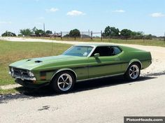 Nice 71 Mustang 1971 Ford Mustang, Mode Of Transport, American Muscle Cars, Vintage Cars, Transportation, Classic Cars, Trucks, Mustangs, Vehicles