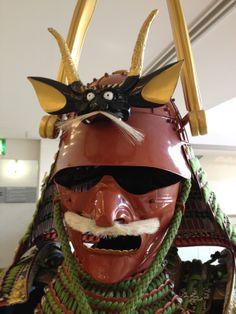 Reproduction Edo period Samurai Kabuto, handmade from a Japanese armorer for sale at Kyoto Handicraft center located at 21 Shougoin Entomi-cho, Sakyo-ku, Kyoto, Japan