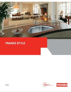 Cover shot of Franke's Catalog provided by @dickinsonhomes in Iron Mountain, MI