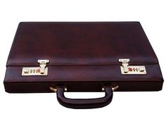 clubb #vintage genuine leather #business hard case #executive briefcase bag, View more on the LINK: http://www.zeppy.io/product/gb/2/301956530877/