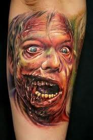 zombie tattoo.
