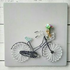 The Original Bicycle String Art