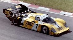 RSC Photo Gallery - Spa 1000 Kilometres 1985 - Porsche 956 no.7 - Racing Sports Cars
