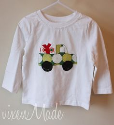 Darling Christmas shirt for the little man