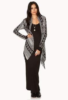 Cozy Southwestern Pattern Cardigan | FOREVER21 - 2000064314