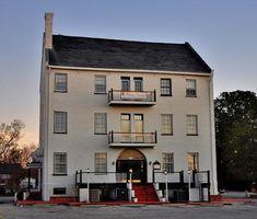 1. The Historic Harvey Mansion and Inn, New Bern.  Restaurants in NC.