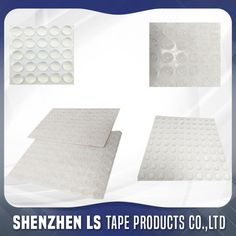 Clear Silicone Rubber/Acrylic Foam Pads For Glass Tables