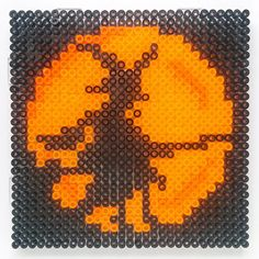 Halloween witch hama  perler beads