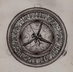 Alethiometer, from His Dark Materials trilogy