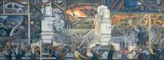 Diego Rivera's murals at the DIA