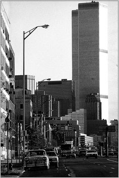 NYC 1990 with twin towers